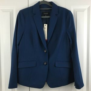 NWT Blue Talbots Blazer